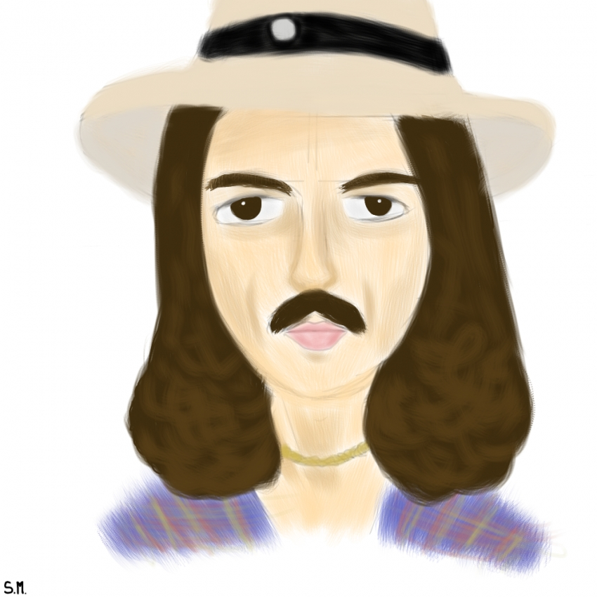 George Harrison by Sadie